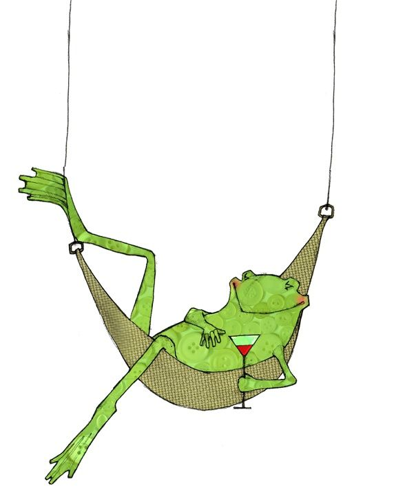 Лягушка картинка нарисовать смешную