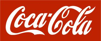 Coca Cola logo stencil in a unique and original design.