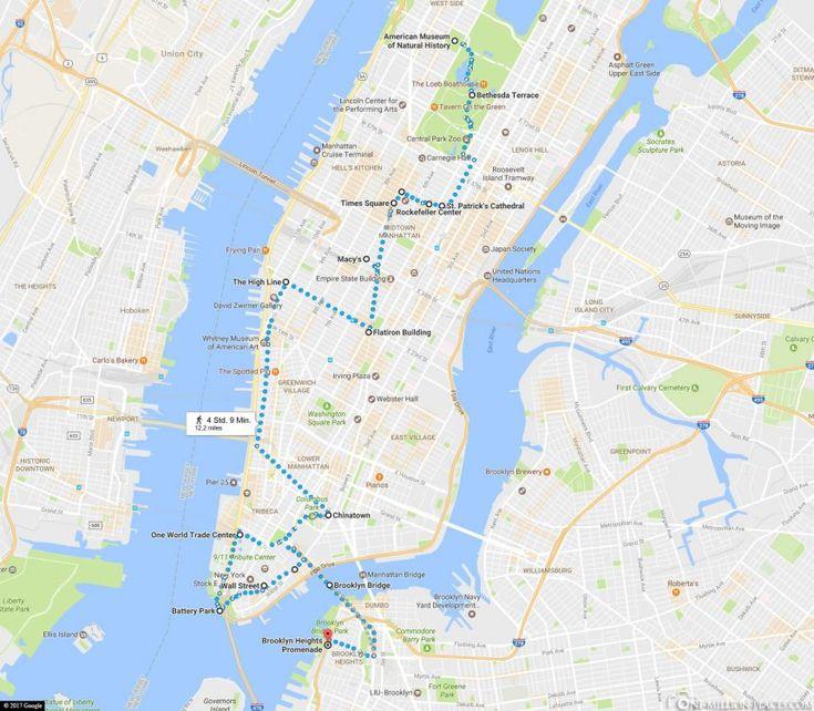 New York an einem Tag – zu Fuß durch Manhattan