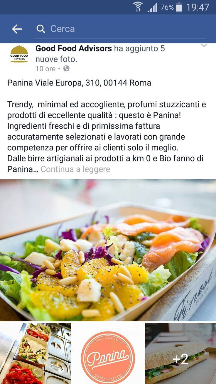 Thanks Good Food Advisors group for this!! #Panina #foodies #foodiesroma #food #foodporn #foodroma