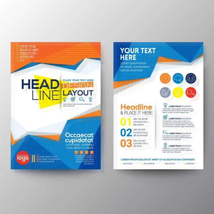 Colorful Polygonal Business Brochure - FREE