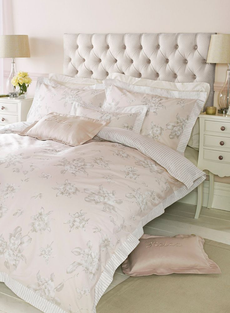 Holly Willoughby Blush Abelle bedding - BHS