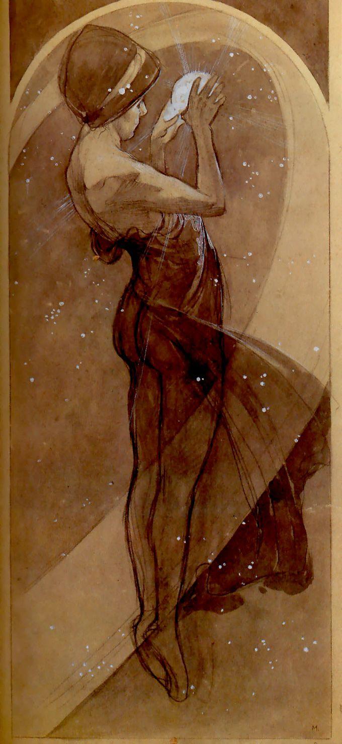 mucha. north star. 1899.