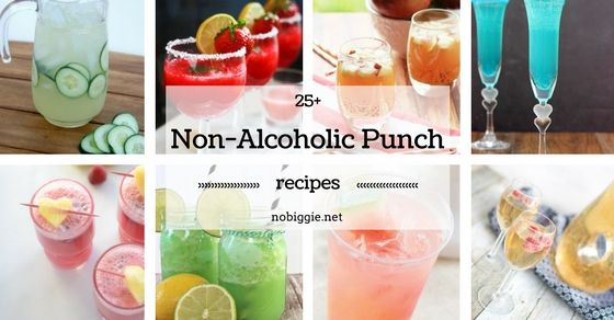 25+ Non-Alcoholic Punch Recipes