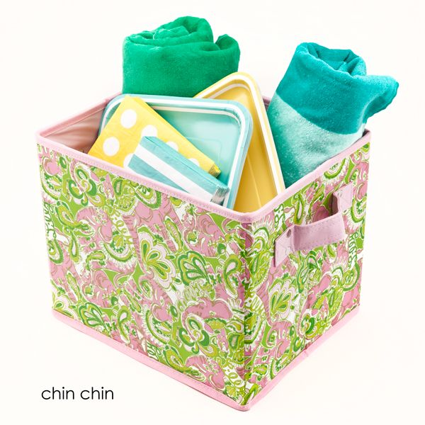 Lilly Pulitzer Organizational Bin - Medium $20?