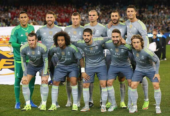 Real Madrid Team Pic 2015-16 Season