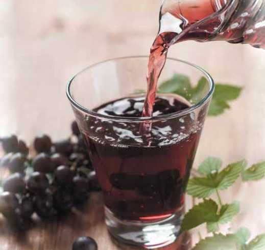 Grape Juice Recipe ... As grape contain seeds, they should be fed gradually into the chute. Grape seeds with skin contain much of the key substances, soit is most excellent to gradually juice whole grapes apart from for the stem.