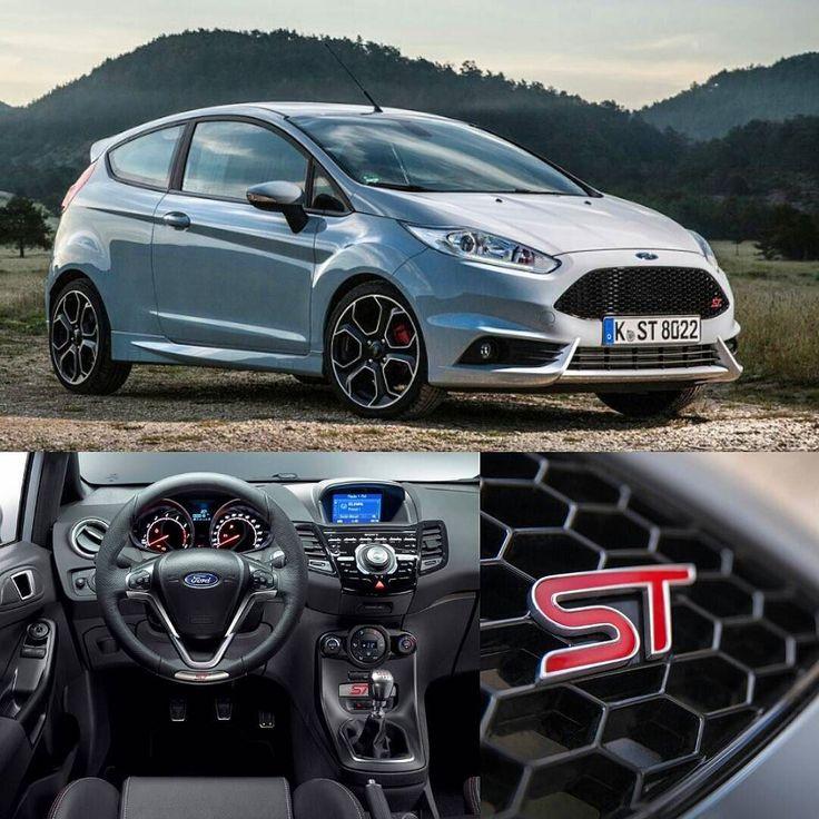 """Ford Fiesta ST200 2017 Esta é o mais poderoso  Fiesta de produção em série já feito pela @fordperformance. O ST200 celebra 40 anos do modelo e oferece um motor EcoBoost 1.6 com 200 cv e 290 nm de torque. A transmissão é manual de seis marchas. O powetrain faz de 0 a 100km/h em 6.7s e máxima de 230 km/h. O carro tem seletor de modo de condução com três ajustes do ESC. É oferecido na cor exclusiva Storm Grey e rodas de 17"""". O interior tem detalhes únicos da versão central multimídia com tela…"""