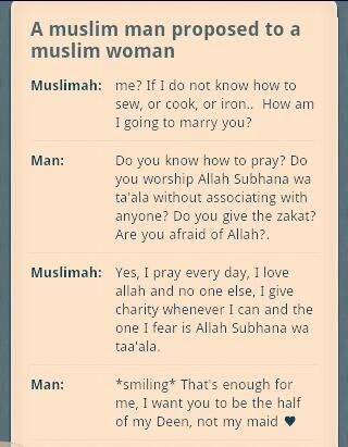 Your Deen and Imaan alone is sufficient for marriage..... So fear Allah and chose the right spouse:) May Allah bless us:)