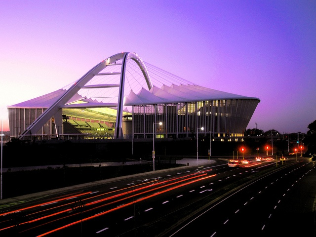 Moses Mabhida Stadium, Durban - Took the cable car going up the stadium, CHECK!