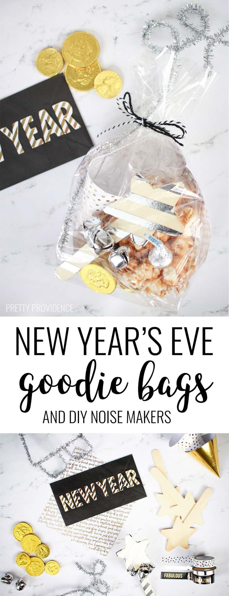 new year Present Ideas - New Year's Eve Goodie Bags... # ...