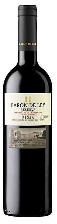 Barón de Ley Reserva 2009 D.O. Rioja - Descuentos por Volumen www.entrecow.com