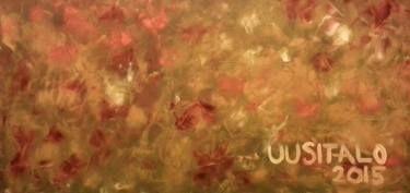 """Saatchi Art Artist Jukka Uusitalo; Painting, """"Rakas Maailma / Beloved World (Autumn Flowers) 2015"""" #art"""