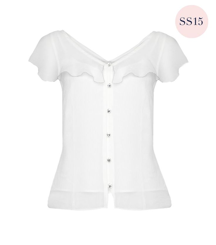 Kiss Me Twice Blouse by Alannah Hill