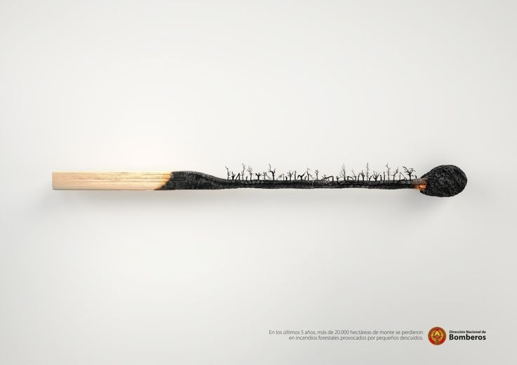 """20,000 hectares of forest"" by DDB Uruguay for Dirección Nacional de Bomberos"