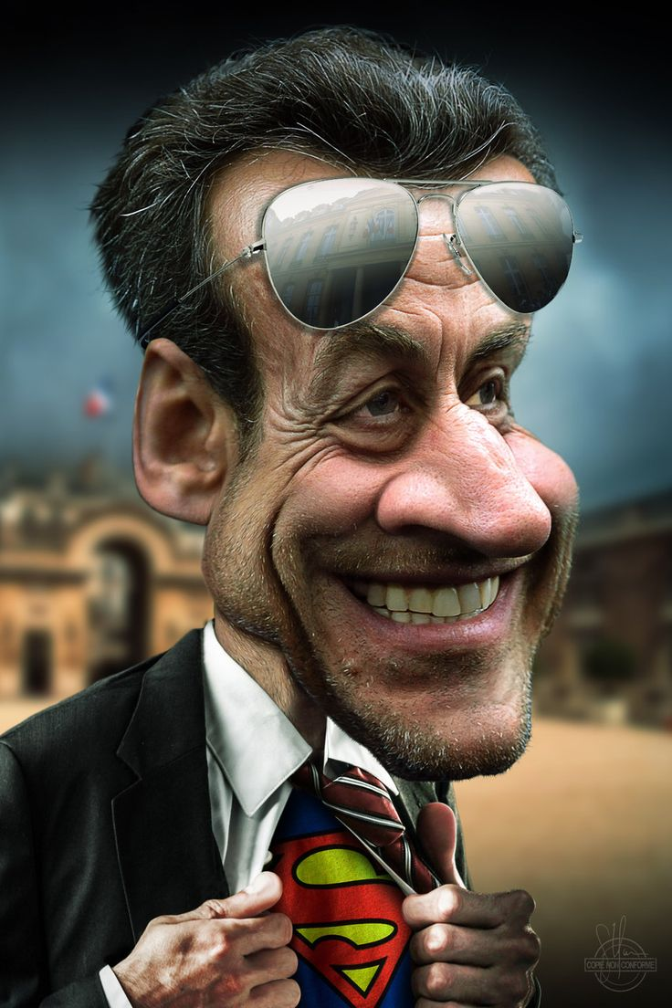 Nicolas Sarkozy Superman                                                                                                                                                                                 Plus