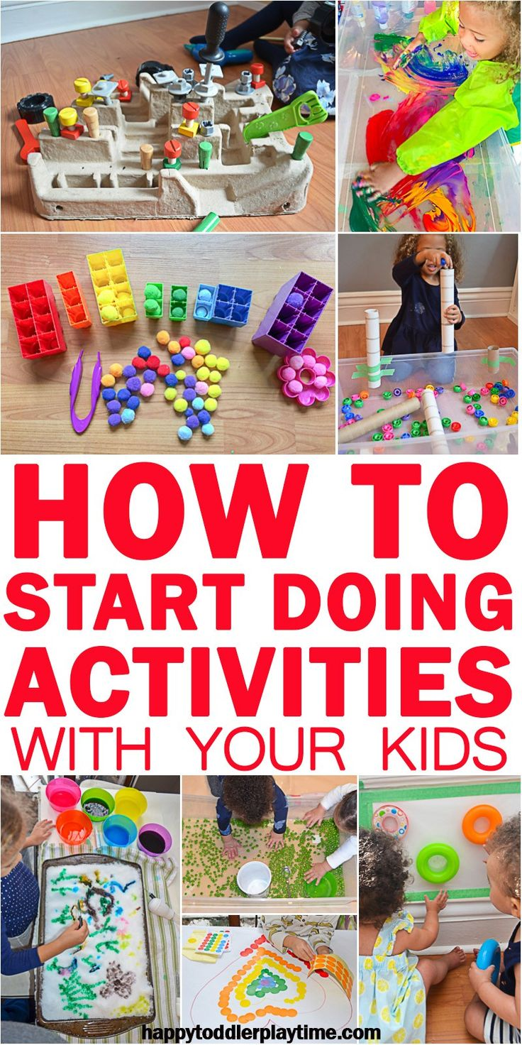 How to Start Doing Activities with Your Kids!