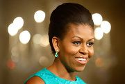 Michelle Obama Pompadour