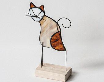 vitrail chats gratuit ornement permanent avec par gabriellejustine