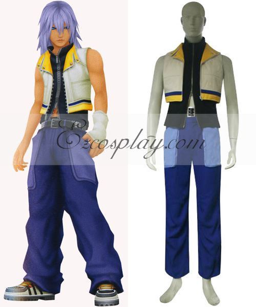 Kingdom Hearts 2 Riku Cosplay Costume - EKH0008