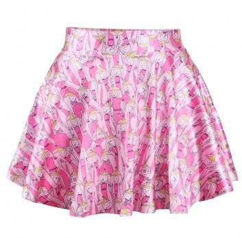 Falda Princesa Bubblegum. Hora de Aventuras Original y simpática falda con imágenes de la Princesa Bubblegum de Hora de Aventuras.