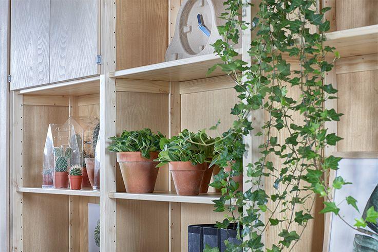 Styling voor Lundia Original stellingkasten | Op maat gemaakt | urban green