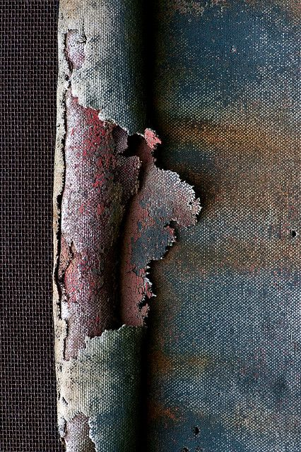 Janet Little Jeffers - patina - rust - peeling paint - beautiful decay