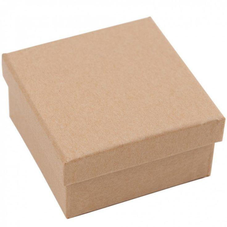 Small square kraft box