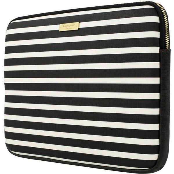 "Kate Spade New York New York Printed Laptop Sleeve Carry Case For 13""""... ($87) ❤ liked on Polyvore featuring accessories, tech accessories, kate spade, laptop sleeve cases, kate spade laptop case, macbook laptop case and laptop travel case"