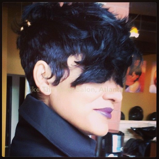 Wondrous 1000 Images About Like The River Salon Atlanta Hairstyles On Short Hairstyles For Black Women Fulllsitofus