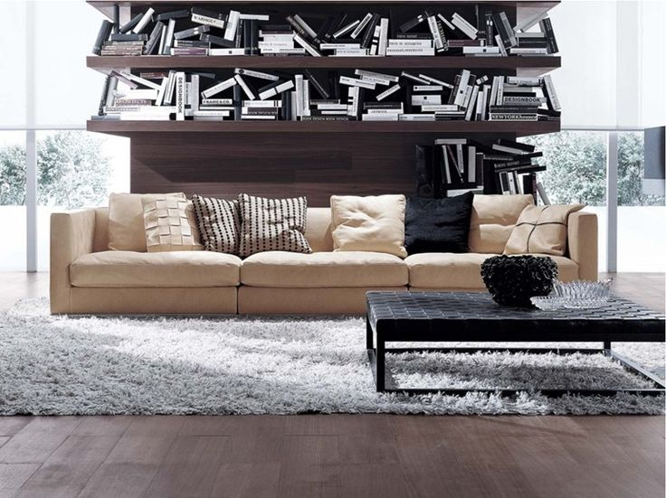Sofá secional de tecido BILBAO | Sofá de tecido - FRIGERIO POLTRONE E DIVANI