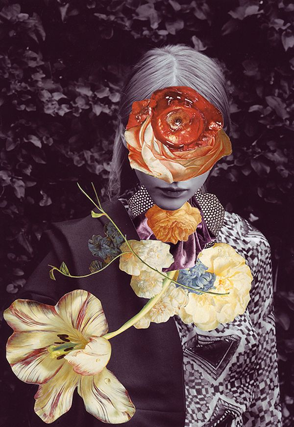 A Montage of Photographic Florals   Ben Giles, Ashkan Honarvar & Valeria Alevra inspiration