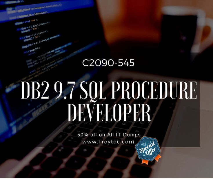 Helping Material available for DB2 9.7 SQL Procedure Developer Exam C2090-545 visit@ https://www.troytec.com/C2090-545-exams.html #certification #Brain dumps #whatagood1 #studymaterial #learningmaterial #computerstudy