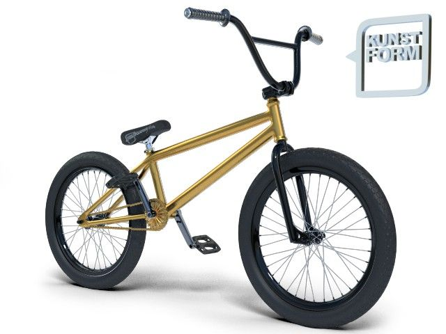 gold time Custom BMX Bike | kunstform BMX Shop & Mailorder - worldwide shipping