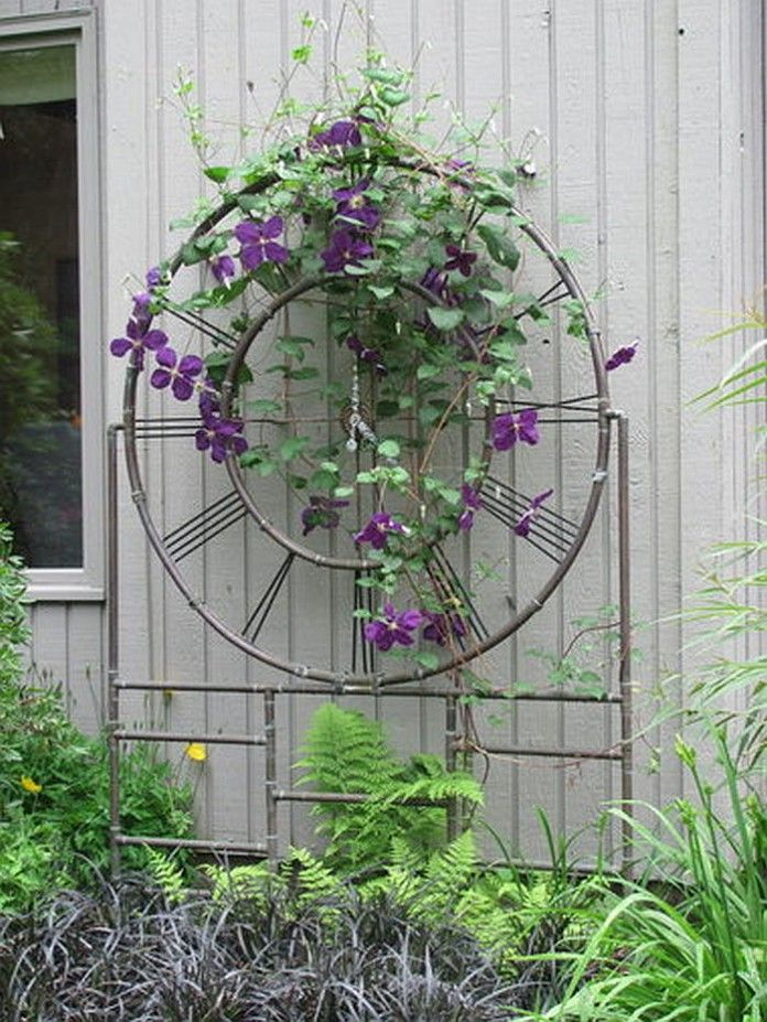 30 Best Copper Trellis Images On Pinterest Backyard