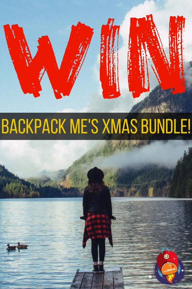 This year, Backpack ME's Xmas Bundle is INSANE! :D We're giving away thousands of $ worth of travel gear, adventure accessories, vouchers, app subscriptions and even an ELEPHANT! True story...