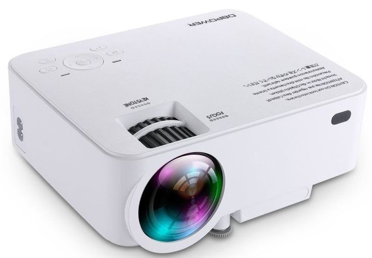 Another day and another projector from DBPOWER called DBPOWER T20. DBPOWER T20 mini projector supports 1500 lumens of brightness and 800*480