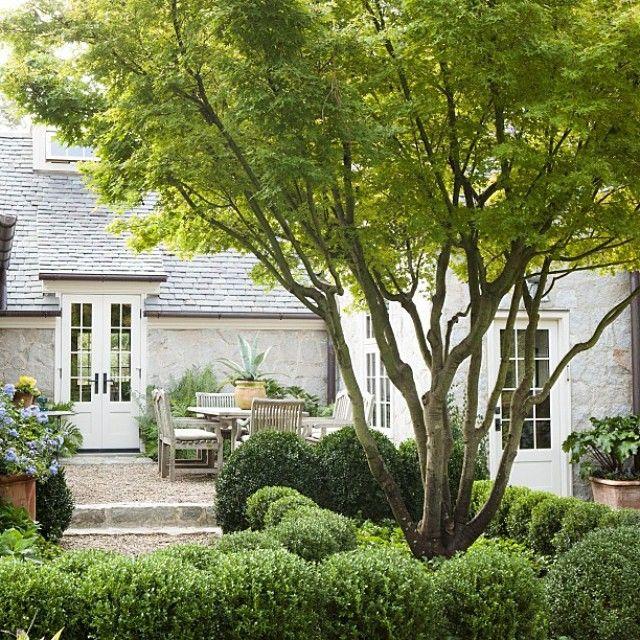 """""""Peek into a beautiful #Atlanta garden designed by @carsonmcelheney."""""""