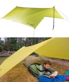 Escapist Tarp. Sea-to-Summit. Ultra light backpacking and camping gear. Shelters and tents.
