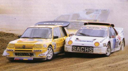 Rallycross - rubbin' is racin'!