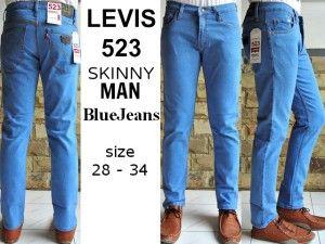 LEVIS 523 SKINNY MAN BlueJeans  harga eceran  Rp. 135.000 / celana (1 -2 pcs ) harga grosir Rp 115.000 /celana (3 pcs atau lebih) belum termasuk ongkir celana LEVIS 523 SKINNY MAN BlueJeans  bahan jeans warna BlueJeans ukuran 28-34 Pemesanan via SMS Anda dapat melakukan pemesanan melalui SMS dengan format sebagai berikut:  Nama | Alamat Lengkap | Produk Yang Dipesan | Jumlah Pesanan  kirim ke 085701111960 pengiriman dari jakarta.