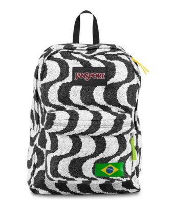 This was one of several designs created for the JanSport Regional Collection. This one, in honor of Brasil, Spring 2014. Get it now at JanSport.com!