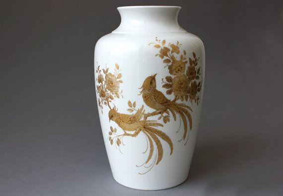 Large vase / porcelain / home decoration / AK by wohnraumformer