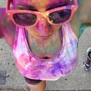 Dear God, @Amy Lowman... what have we done? Color run tips