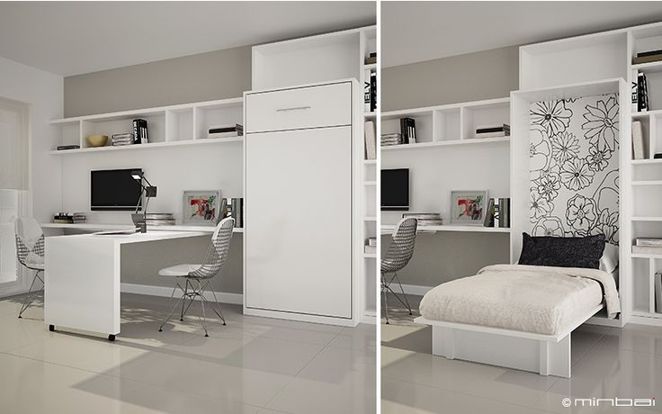 125 best images about ambientes on pinterest ba d loft for Cama ropero