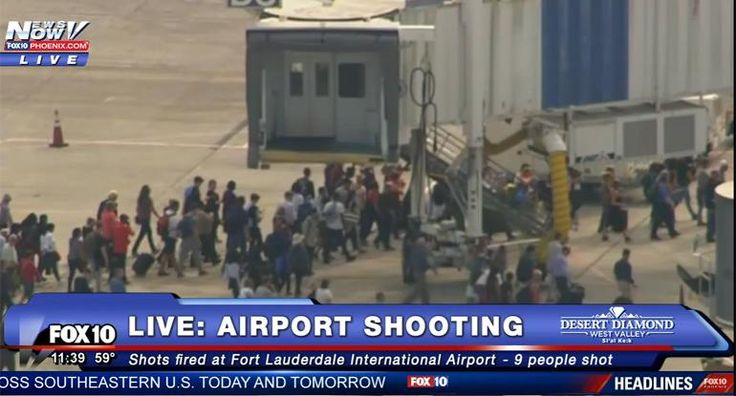 Shots Fired at Ft. Lauderdale Airport, 3 People Reported Dead #PJMedia  https://pjmedia.com/trending/2017/01/06/shots-fired-at-ft-lauderdale-airport-multiple-people-reported-dead/