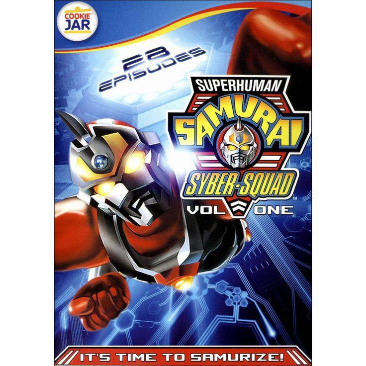 Superhuman Samurai Syber-Squad, Vol. 1 [3 Discs]