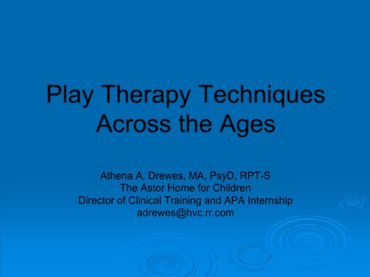 Play Therapy Techniques Through the Ages | Scribd