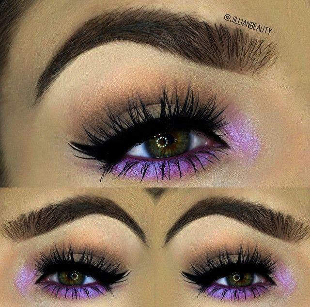 Eyeshadow Tutorial For Blue Eyes And Blonde Hair Makeup Brush
