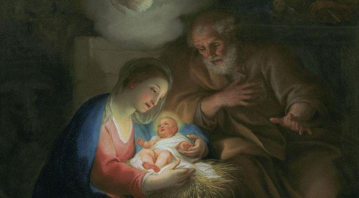 """Anton Raphael Mengs, tysk maler (1728-1779): """"Kristi fødsel"""", 1754/55. Scanpix"""